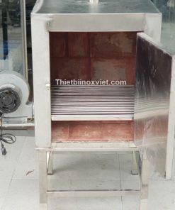 Lò ủ than hoa không khói( Inox)