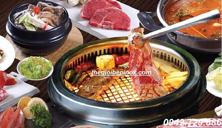 Giá bán lò nướng không khói âm bàn cho nhà hàng tại TPHCM