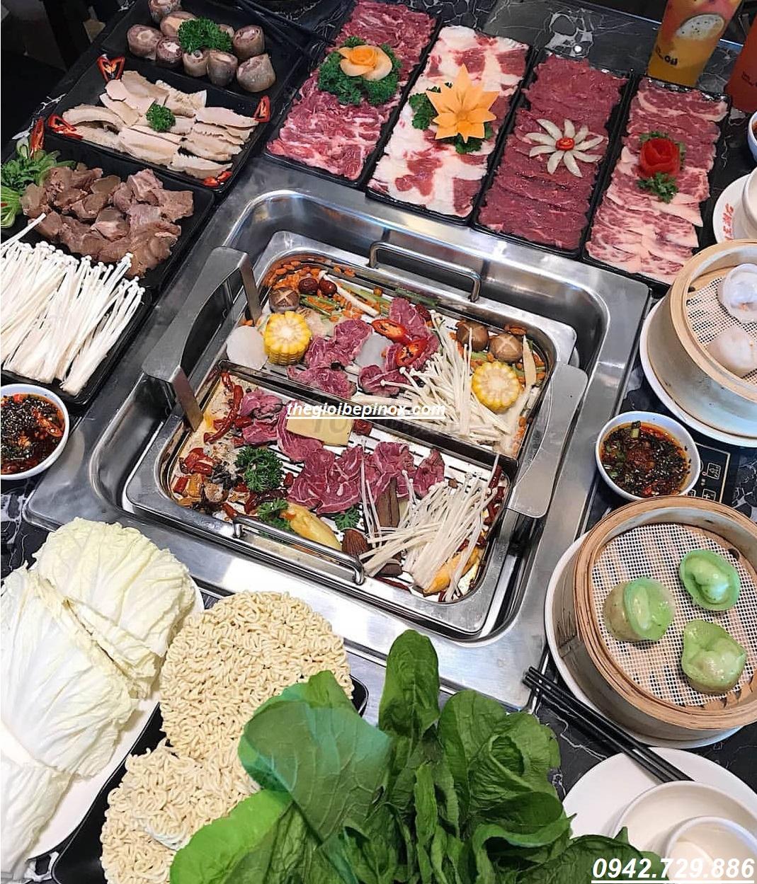 Tư vấn lắp đặt trọn gói hệ thống bếp lẩu tự nâng nhà hàng giá rẻ nhất Hà Nội I Bếp lẩu thang máy nhà hàng giá rẻ