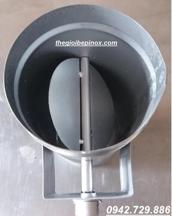 Van chỉnh gió bếp hút âm giá rẻ tại Bắc Giang