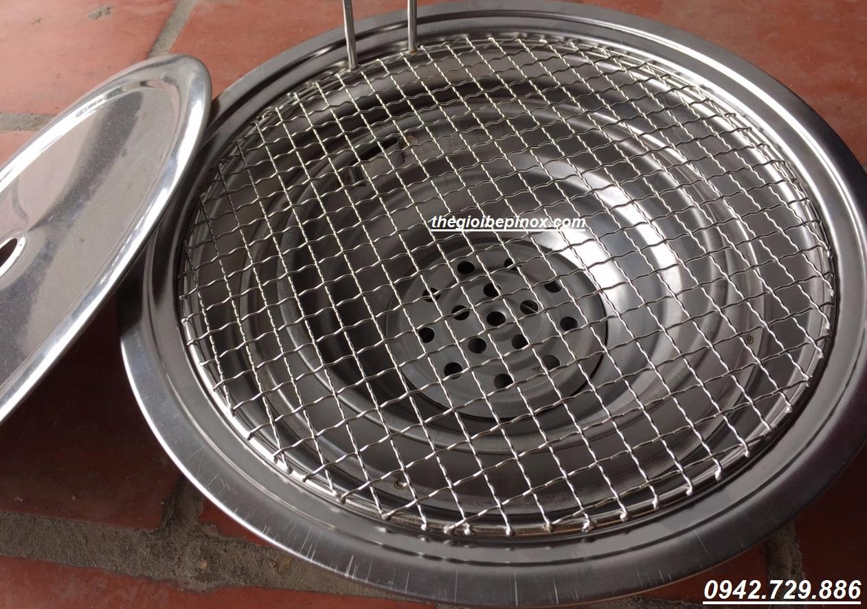 Lò nướng than âm bàn ngoài trời vn01 giá rẻ