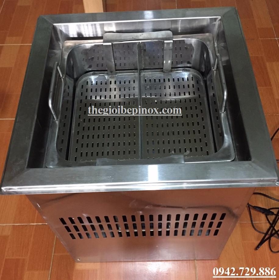 Thiết bị bếp lẩu thang máy Lẩu tự nâng giá bao nhiêu?