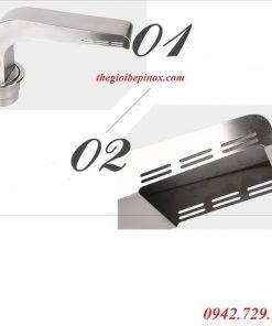Giá bán ống hút khói bếp nướng âm tại tphcm