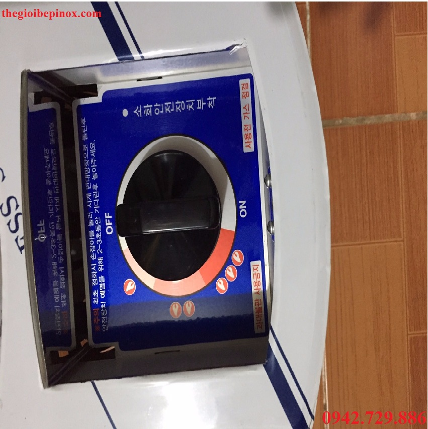bộ điều chỉnh mức độ lửa của bếp gas âm bàn lẩu
