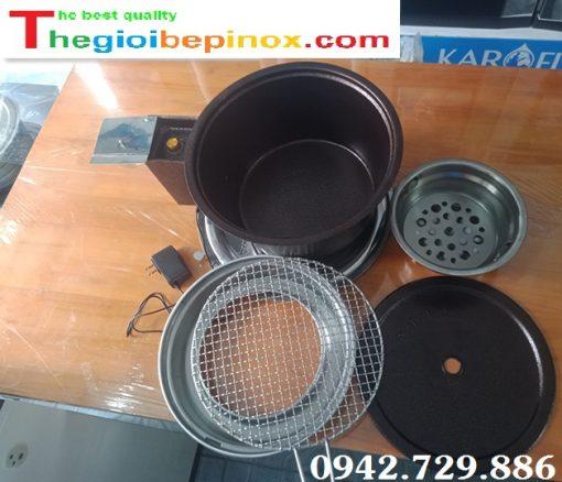 Cấu tạo bếp nướng than có quạt thổi - Hàng Việt Nam