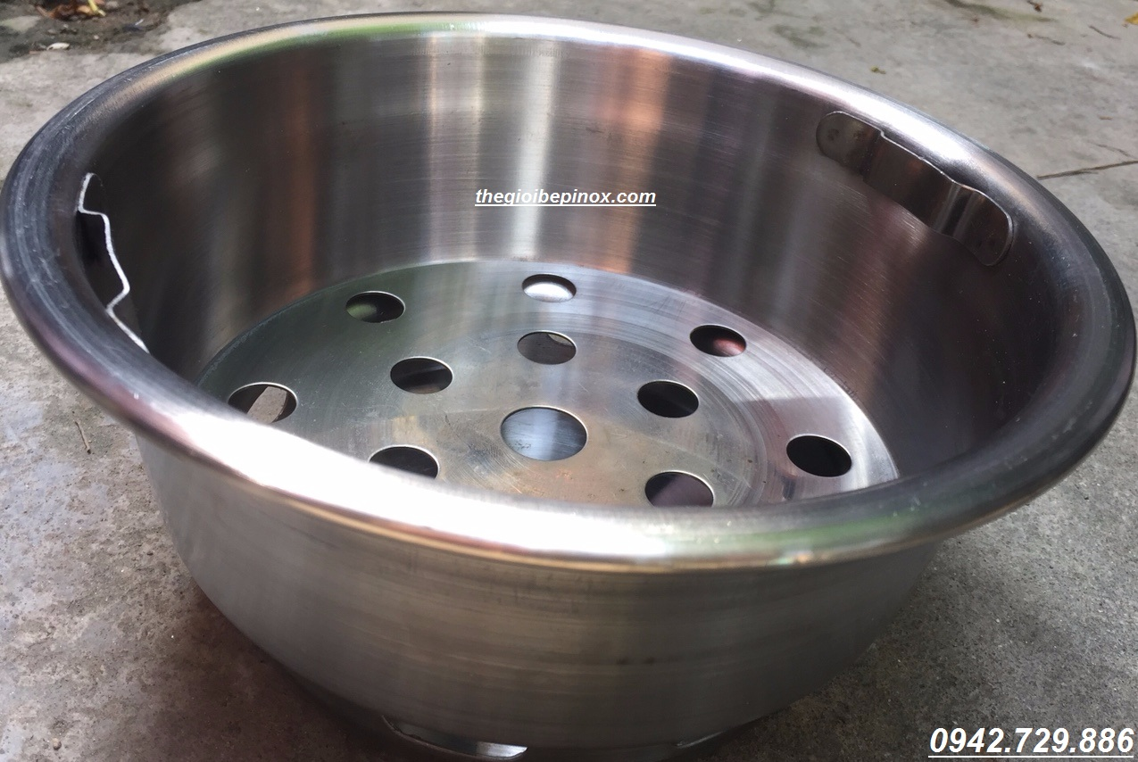 Bát than bếp nướng than âm bàn nhà hàng nướng Hàn Quốc