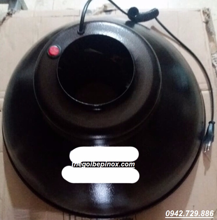 Đèn trang trí ống hút khói mùi kiểu cứng bếp nướng than Hàn Quốc