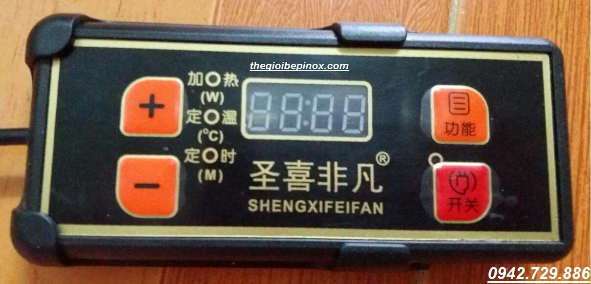 Bảng điều khiển nhiệt độ bếp từ lẩu âm bàn nhà hàng I Bán bếp từ lẩu tròn nhà hàng giá rẻ nhất Nha Trang