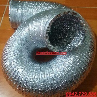 Ống bạc mềm phi 125 giá rẻ tại HCM