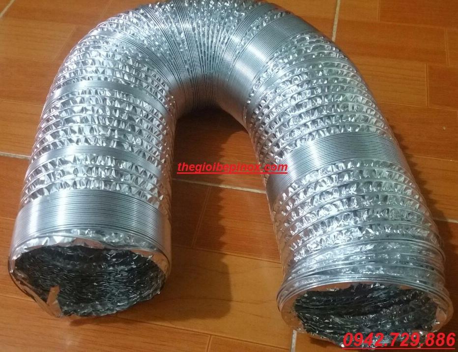 Ống bạc mềm có đường kính ống d100mm - d200mm - d300mm- d125mm-d150mm