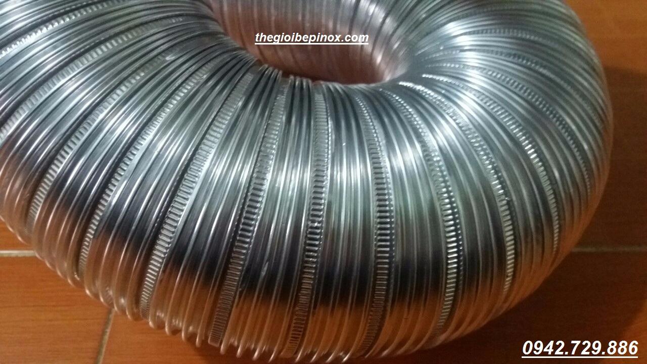 Bán ống nhôm nhún chịu nhiệt d100mm giá rẻ I giá bán ống gió mềm chịu nhiệt d125 tại Hà Nội I nơi bán ống gió mềm hút thải nhiệt giá rẻ tại hà nội