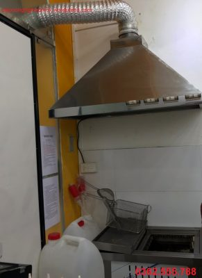 Thông gió bếp nhà hàng - quán ăn - gia đình dùng quạt gì?