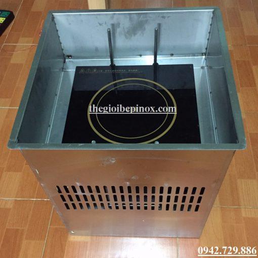 Cấu tạo thiết bị bếp lẩu thang máy nhà hàng Trung Hoa