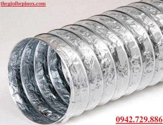 Bán các loại ống bạc mềm hút khói bụi công nghiệp giá rẻ tại Hà Nội