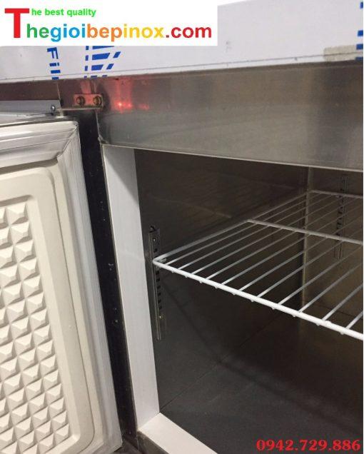 Bàn mát 2 cánh inox cho khu bếp nấu nhà hàng chất lượng và giá rẻ