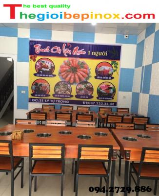 Bếp từ lẩu nhà hàng chất lượng giá rẻ ở HCM