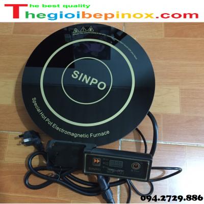 Bếp từ lẩu tròn công suất 2000W Sinpo