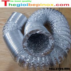 Ống gió bạc mềm phi 125 ở Hà Nội