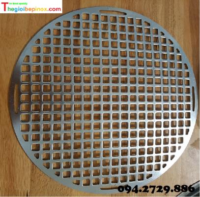 Vỉ nướng inox 304 chống dính bếp nướng than Hàn Quốc giá rẻ TP HCM