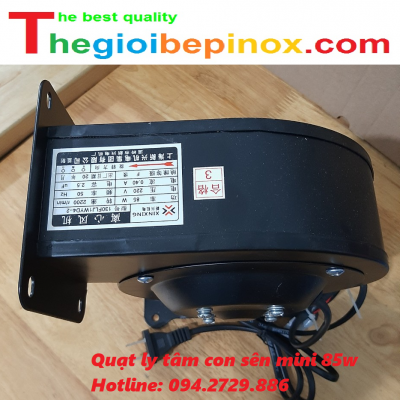 Quạt ly tâm con sên mini 85w giá rẻ Hà Nội- TPHCM