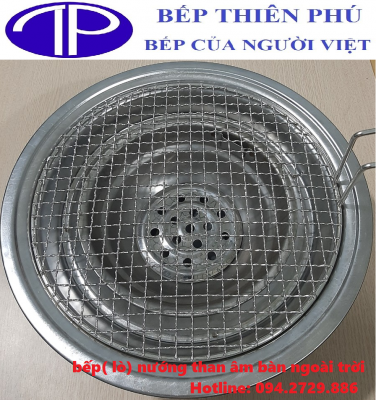 Bếp nướng than âm bàn ngoài trời giá rẻ tại Hà Nội - HCM