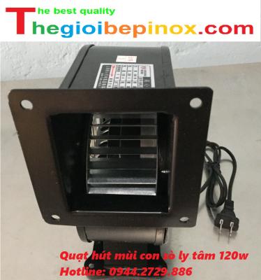 Quạt hút mùi con sò ly tâm 120w giá rẻ ở Hà Nội - Bắc Ninh