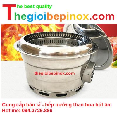 Cung cấp bán sỉ bếp nướng than hoa hút âm giá rẻ tại HCM - Hà Nội