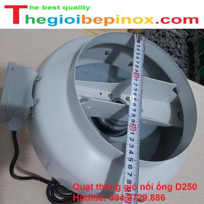 Quạt thông gió nối ống D250 giá rẻ tại Hài Nội - Hồ Chí Minh