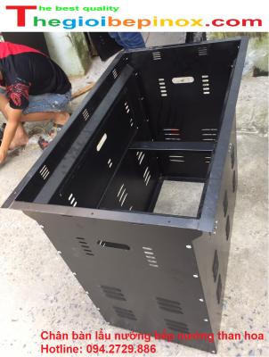 Chân bàn lẩu nướng bếp nướng than hoa chất lượng, giá tốt tại Hà Nội