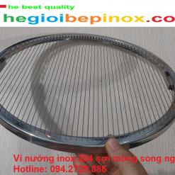 Vỉ nướng inox 304 sợi mỏng song ngang giá tốt ở Hà Nội - TPHCM