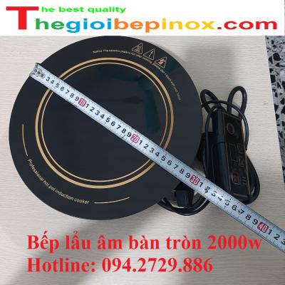 Bếp lẩu âm bàn tròn 2000w giá rẻ ở Hà Nội - TP HCM