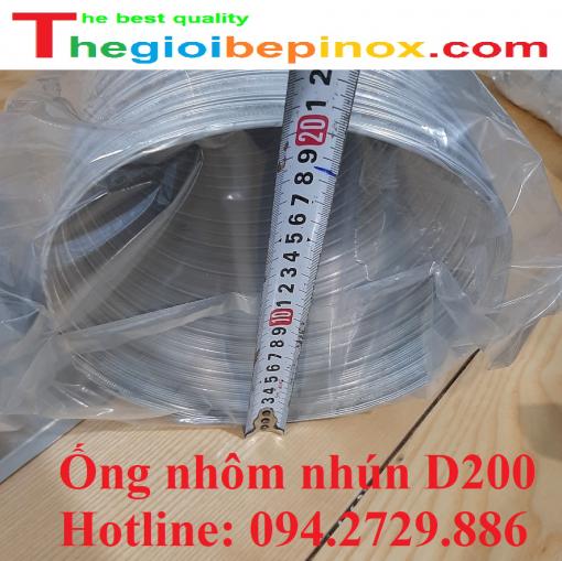 Ống nhôm nhún d200 giá rẻ ở Hà Nội - Hồ Chí Minh