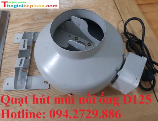 Bán buôn bán lẻ quạt hút mùi nối ống D125 ở Hà Nội - HCM