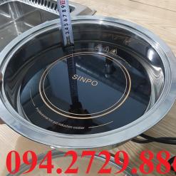Bán buôn bếp hồng ngoại tròn âm bàn công suất 2000w ở TPHCM