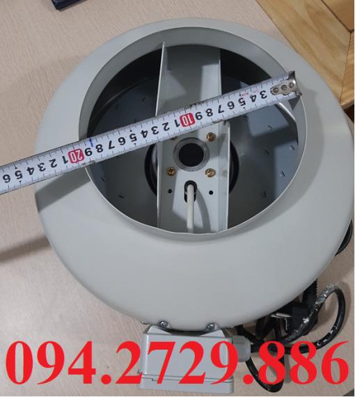 Kích thước đầu thổi của quạt nối ống D200 chất lượng cao