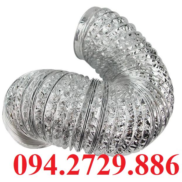 Ống bạc mềm - ống gió mềm giá rẻ nhất Hà Nội - Ship hàng Toàn Quốc