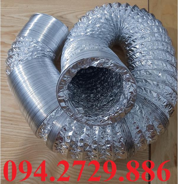 Ống bạc mềm thông gió hút mùi quạt công nghiệp - máy công nghiệp - dây chuyền sản xuất