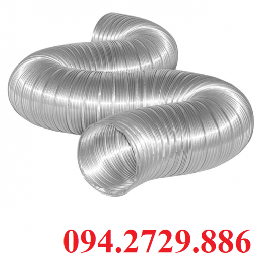 Ống nhôm nhún - ống gió mềm D125 giá rẻ ở Hà Nội