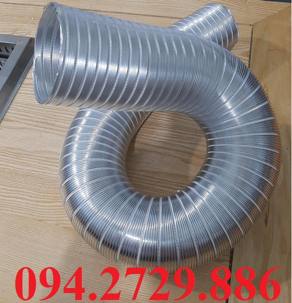 Ống nhôm nhún - ống gió mềm nhôm định hình chịu nhiệt độ cao giá rẻ ở Hà Nội - Ship Toàn Quốc