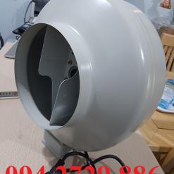 Quạt thông gió cấp khí tươi nối ống D200 giá rẻ nhất Hải Phòng - Phú Thọ