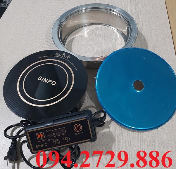 Bếp lẩu cô đơn tròn âm bàn công suất 800w chất lượng coa, giá tốt nhất Hà Nội - HCM, bảo hành 12 tháng