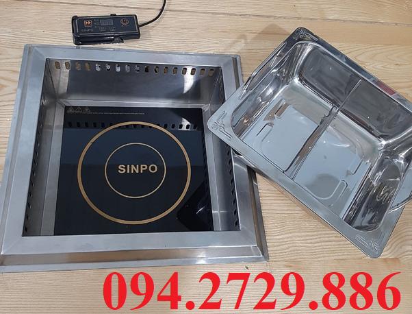 Cung cấp bán buôn bán lẻ bộ bếp lẩu 2 ngăn âm bàn công suất 3000w giá tốt ở Hà Nội. Ship hàng Toàn Quốc