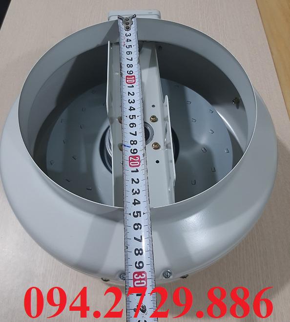 Kích thước nối ống quạt thông gió hút mùi cấp khí tươi D250 chất lượng cao, giá tốt