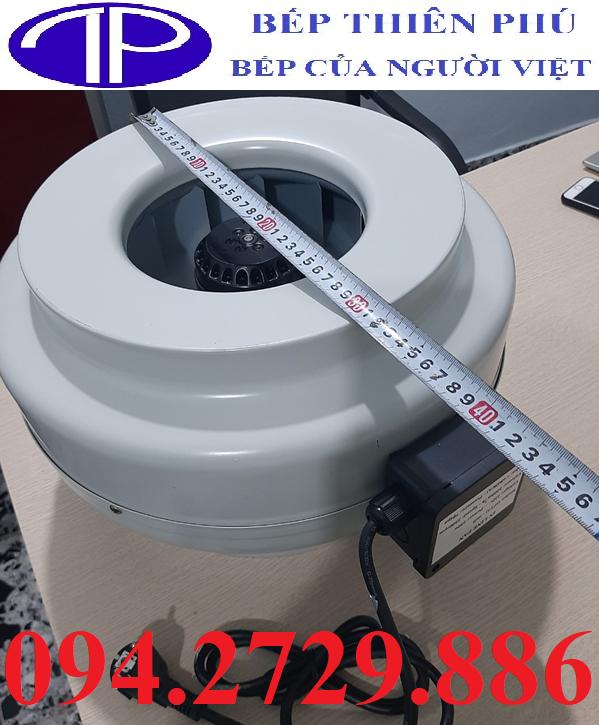 Quạt hút mùi nối ống D315 giá rẻ ở Phú Thọ, bảo hành 1 năm