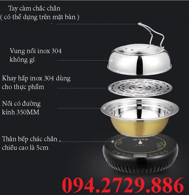 Bếp lẩu hơi gia đình - Nồi lẩu hơi gia đình và nhà hàng chất lượng giá rẻ nhất Hà Nội